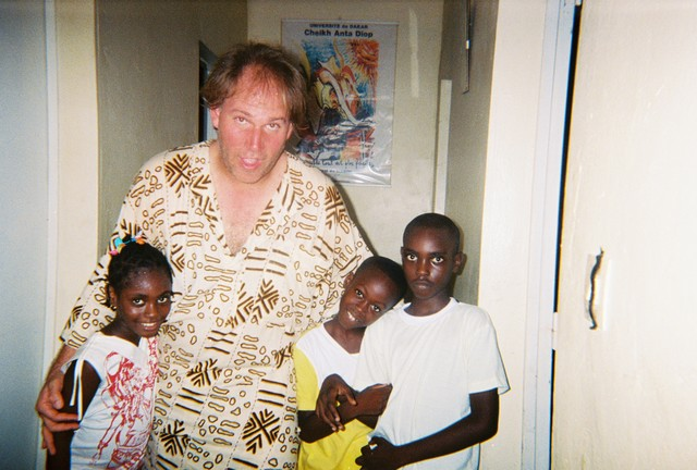 Andy invited to a Senegalese home in Dakar