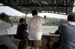 Gambia River birding near Tendaba Camp by Andy Lamy