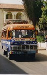 A Senegalese co-op bus running between Dakar and the Holy City of Touba by ACL