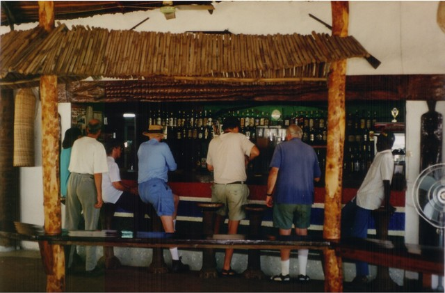 Bellying up to the bar at Tendaba Camp, a top-10 African birding hotspot according to African Bird Club